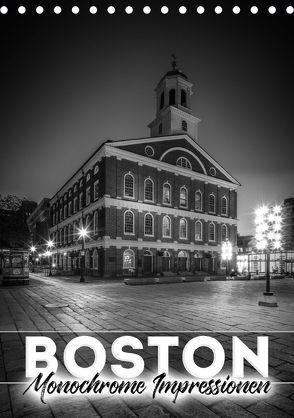 BOSTON Monochrome Impressionen (Tischkalender 2018 DIN A5 hoch) von Viola,  Melanie