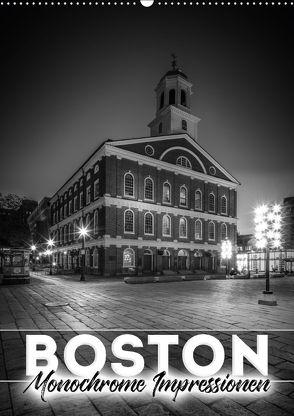 BOSTON Monochrome Impressionen (Wandkalender 2018 DIN A2 hoch) von Viola,  Melanie