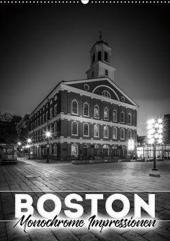 BOSTON Monochrome Impressionen (Wandkalender 2019 DIN A2 hoch) von Viola,  Melanie