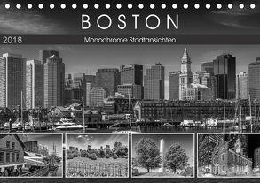 BOSTON Monochrome Stadtansichten (Tischkalender 2018 DIN A5 quer) von Viola,  Melanie