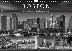 BOSTON Monochrome Stadtansichten (Wandkalender 2018 DIN A4 quer) von Viola,  Melanie