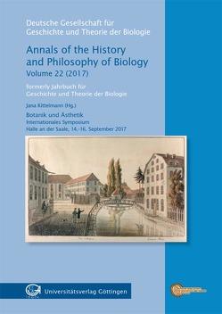 Botanik und Ästhetik von Kittelmann,  Jana