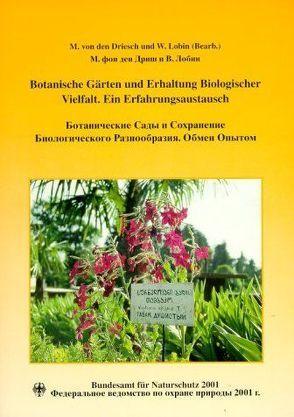 Botanische Gärten und Erhaltung Biologischer Vielfalt