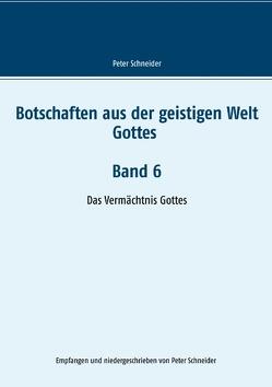 Botschaften aus der geistigen Welt Gottes Band 6 von Schneider,  Peter