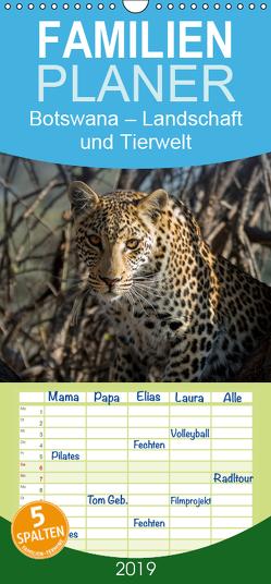 Botswana – Landschaft und Tierwelt – Familienplaner hoch (Wandkalender 2019 , 21 cm x 45 cm, hoch) von Bruhn,  Olaf