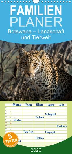 Botswana – Landschaft und Tierwelt – Familienplaner hoch (Wandkalender 2020 , 21 cm x 45 cm, hoch) von Bruhn,  Olaf