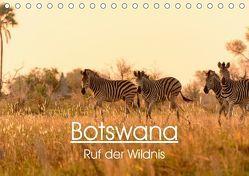 Botswana – Ruf der Wildnis (Tischkalender 2019 DIN A5 quer) von Maria-Lisa Stelzel,  Mag.