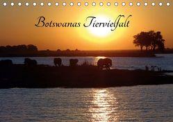 Botswanas Tiervielfalt (Tischkalender 2019 DIN A5 quer) von Benahmed,  Ramona