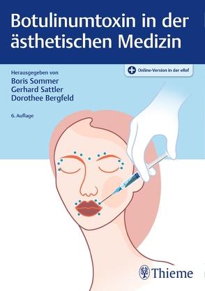 Botulinumtoxin in der ästhetischen Medizin von Bergfeld,  Dorothee, Sattler,  Gerhard, Sommer,  Boris