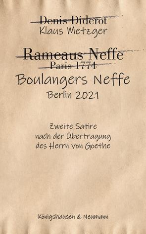 Boulangers Neffe von Metzger,  Klaus