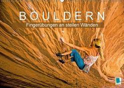 Bouldern: Fingerübungen an steilen Wänden (Wandkalender 2018 DIN A2 quer) von CALVENDO,  k.A.