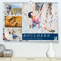 Bouldern: Klettern extrem (Premium, hochwertiger DIN A2 Wandkalender 2020, Kunstdruck in Hochglanz) von CALVENDO