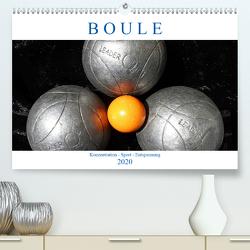 Boule. Konzentration – Sport – Entspannung (Premium, hochwertiger DIN A2 Wandkalender 2020, Kunstdruck in Hochglanz) von Robert,  Boris