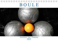 Boule. Konzentration – Sport – Entspannung (Tischkalender 2019 DIN A5 quer) von Robert,  Boris