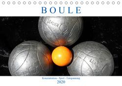 Boule. Konzentration – Sport – Entspannung (Tischkalender 2020 DIN A5 quer) von Robert,  Boris