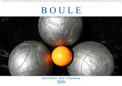 Boule. Konzentration – Sport – Entspannung (Wandkalender 2020 DIN A2 quer) von Robert,  Boris