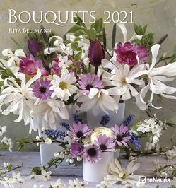 Bouquets 2021 – Foto-Kalender – Wand-Kalender – 45×48 – Blumen-Kalender von Bellmann,  Rita