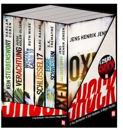 Box BILD Mega-Thriller 2021 von Adler-Olsen,  Jussi, Coben,  Harlan, Jensen,  Jens Henrik, Raabe,  Marc, Tremayne,  S. K., Ware,  Ruth