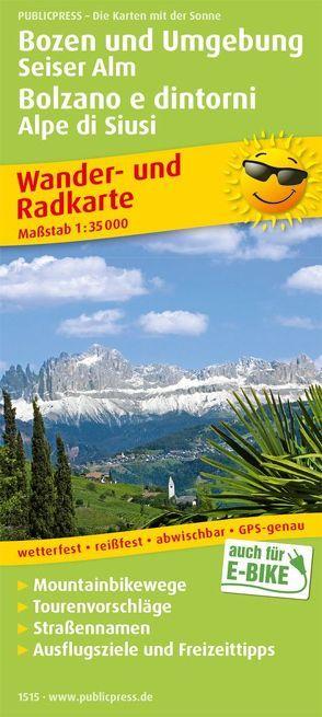Bozen und Umgebung, Seiser Alm / Bolzano e dintorni, Alpe di Siusi