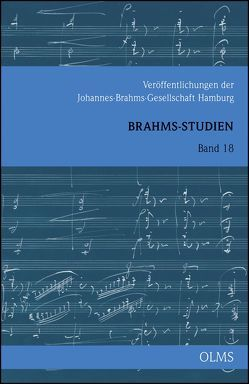 Brahms-Studien Band 18 von Borchard,  Beatrix, Schüssler-Bach,  Kerstin