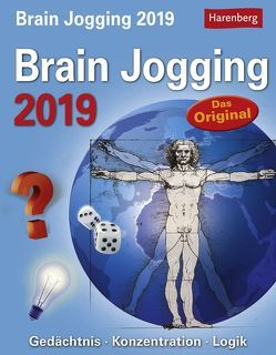Brain Jogging – Kalender 2019 von Harenberg