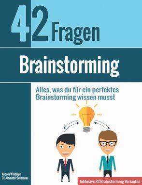 Brainstorming von Blumenau,  Alexander, Windolph,  Andrea