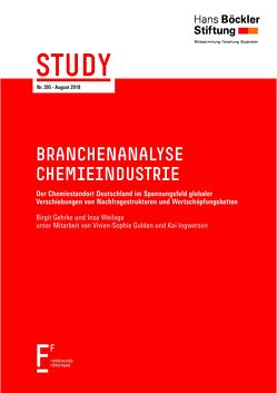 Branchenanalyse Chemieindustrie von Gehrke,  Birgit, Weilage,  Insa