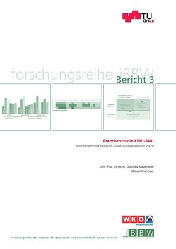 Branchenstudie KMU-BAU von Kraninger,  Michael, Mauerhofer,  Gottfried