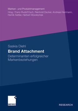 Brand Attachment von Diehl,  Saskia, Esch,  Prof. Dr. Franz-Rudolf