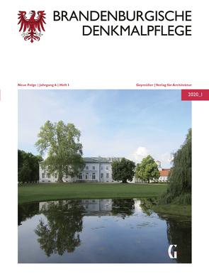 Brandenburgische Denkmalpflege | Neue Folge von Drachenberg,  Thomas