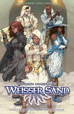 Brandon Sandersons White Sand – Weißer Sand von Sanderson,  Brandon, u.a.