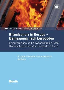 Brandschutz in Europa – Bemessung nach Eurocodes von Hosser,  Dietmar, Zehfuß,  Jochen