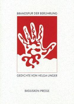 Brandspur der Berührung von Holtgreve,  Alfons, Unger,  Helga
