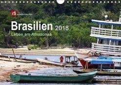 Brasilien 2018 Leben am Amazonas (Wandkalender 2018 DIN A4 quer) von Bergwitz,  Uwe