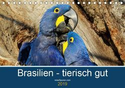 Brasilien tierisch gut 2019 (Tischkalender 2019 DIN A5 quer) von Bergwitz,  Uwe