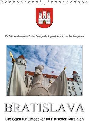 BratislavaAT-Version (Wandkalender 2018 DIN A4 hoch) von Bartek,  Alexander