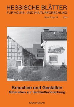 Brauchen und Gestalten von Baeumerth,  Karl, Becker,  Siegfried
