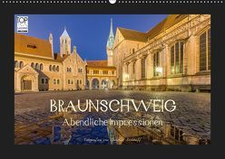 BRAUNSCHWEIG – Abendliche Impressionen (Wandkalender 2019 DIN A2 quer) von Berkhoff,  Christine