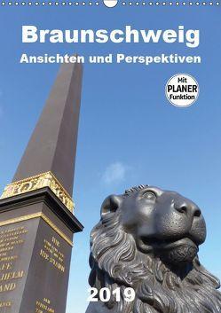 Braunschweig Ansichten und Perspektiven (Wandkalender 2019 DIN A3 hoch) von Braunschweig, Grafik-Designer, Schröer,  Ralf