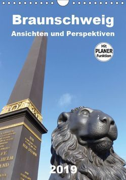 Braunschweig Ansichten und Perspektiven (Wandkalender 2019 DIN A4 hoch) von Braunschweig, Grafik-Designer, Schröer,  Ralf