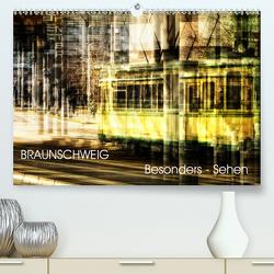 BRAUNSCHWEIG – Besonders Sehen (Premium, hochwertiger DIN A2 Wandkalender 2020, Kunstdruck in Hochglanz) von aplowski,  andrea