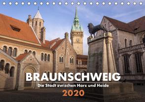 Braunschweig – Die Stadt zwischen Harz und Heide (Tischkalender 2020 DIN A5 quer) von Hörster,  Markus