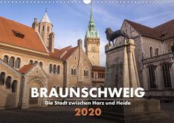 Braunschweig – Die Stadt zwischen Harz und Heide (Wandkalender 2020 DIN A3 quer) von Hörster,  Markus