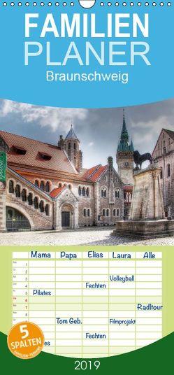 Braunschweig – Familienplaner hoch (Wandkalender 2019 , 21 cm x 45 cm, hoch) von - Uwe Vahle,  Kordula