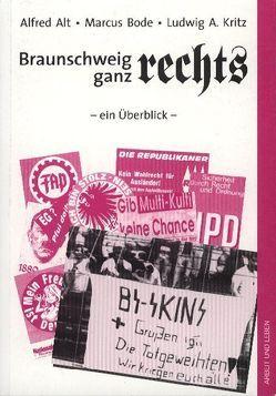 Braunschweig ganz rechts von Alt,  Alfred, Bode,  Marcus, Kritz,  Ludwig A