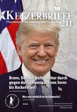 Bravo, Donald! Halte weiter durch gegen das Lumpenpack von Soros bis Rockefeller! von Freudenthal,  Anton, Hoevels,  Fritz Erik, Joos,  Ariane, Leitner,  Ursula, Steinbach,  Kerstin, Zadak,  Armin
