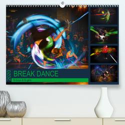 Break Dance B-boys & B-girls (Premium, hochwertiger DIN A2 Wandkalender 2020, Kunstdruck in Hochglanz) von Meutzner,  Dirk