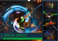 Break Dance B-boys & B-girls (Wandkalender 2019 DIN A3 quer)