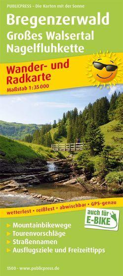 Bregenzerwald, Großes Walsertal, Nagelfluhkette