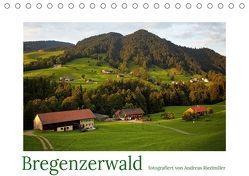 Bregenzerwald fotografiert von Andreas Riedmiller (Tischkalender 2018 DIN A5 quer) von Riedmiller,  Andreas